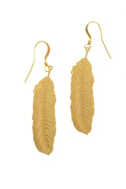 Boho Feather Dangle Earrings | Nickel Free Hypoallergenic Earrings