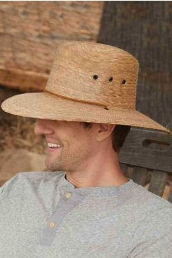 Braided Palm Lifeguard Hat | Sun Protection Hats for Men |