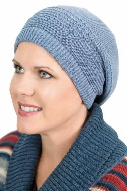 100% Cotton Brooklyn Beret Slouchy Cap for Women