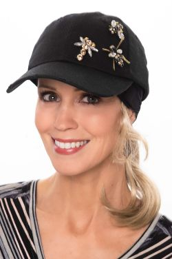 Bejeweled Bumblebee Baseball Cap | Baseball Caps or Women