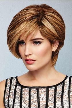 Calling All Compliments by Raquel Welch Wigs - Remy Human Hair, Hand Tied, Lace Front, Monofilament Wig