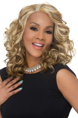Candi by Vivica Fox Wigs - Heat Friendly Synthetic, Lace Front Wig