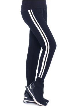 Cardani Stripe Track Suit Pants   Bamboo Viscose Track Pants for Women