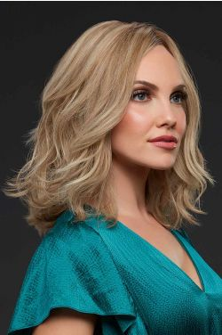 Carrie by Jon Renau Wigs - Human Hair, Monofilament, Lace Front Wig