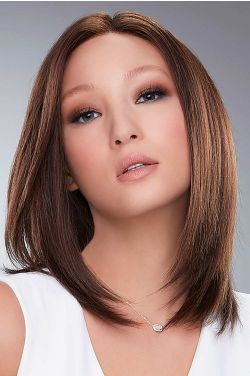 Carrie Hand Tied by Jon Renau Wigs - Remy Human Hair, Hand Tied, Lace Front, Monofilament Wigs