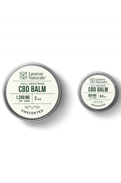 Full Spectrum CBD Balm | Unscented | Made with Natural Ingredients