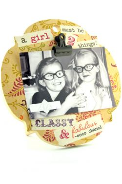 Clip It Photo Frame - Picture Frame with Sayings