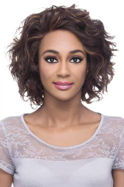 Chanel by Vivica Fox Wigs - Remy Human Hair, Lace Front Wig