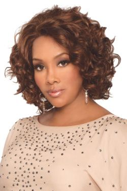 Chante by Vivica Fox Wigs - Human Hair, Lace Front Wig