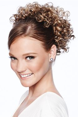 Cheer & Irish Dancer Hair Piece | Hairdo Cheer Dance Curls