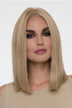 Chelsea by Envy Wigs - Human/Heat Friendly Hair Blend, Mono Top, Hand Tied, Lace Front Wig