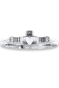Stainless Steel Claddagh Bracelet