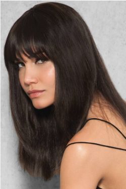 Human Hair Clip In Bangs | Fringe by Hairdo