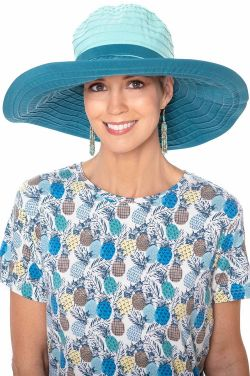 Color Block Wide Brim Sun Hat | Summer Hats for Women