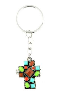 Colors of Faith Keychain for Cancer Patients