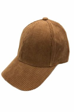 Basic Corduroy Baseball Hat for Fall & Winter