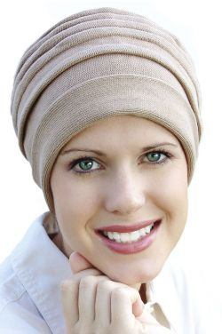 Cotton Accordion Turban | Pure Knitted Cotton Hats for Women