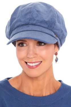 Cotton Corduroy Newsboy Cap | Newsboy Caps for Women