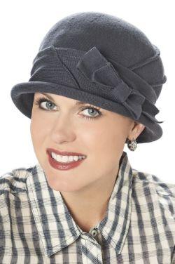 Cotton Flapper Hat
