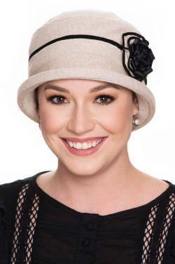 Vintage Rosie Cloche Hat   All Cotton Hats for Women  