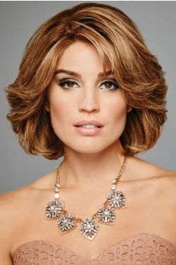 The Art of Chic by Raquel Welch Wigs - Remy Human Hair, Hand Tied, Lace Front, Monofilament Wig