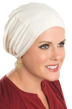 Cardani Cozy Cap Slouch Hat in Bamboo for Women