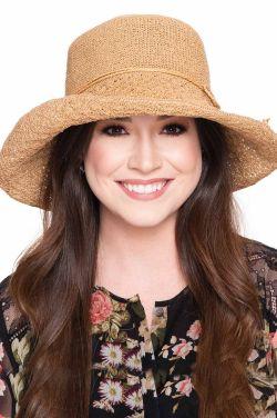 Cynthia Hand Crocheted Sun Hat | Packable Summer Hat for Women