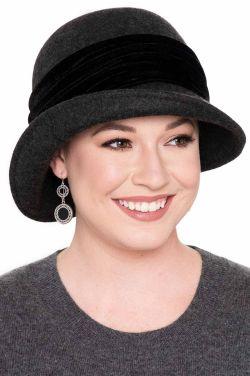 Delaney Wool Felt Cloche | Winter Hats for Women