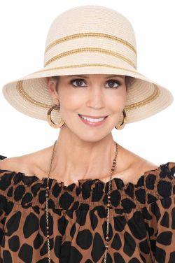 Delina Shimmer Bucket Hat   Stylish Sun Hats for Women