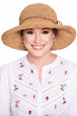 Delta Hand Crocheted Sun Hat | Packable Summer Hat for Women