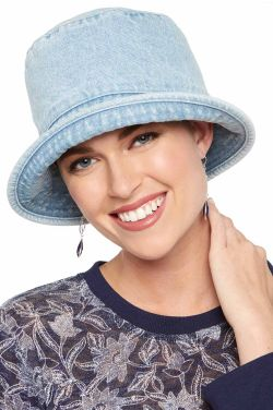 Denim Bucket Hat | Bucket Hats for Women