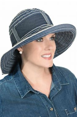 Denim Delaina Sun Hat for Women