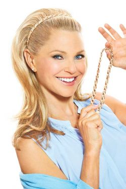 Double Braided Headband Accessory by Christie Brinkley Wigs