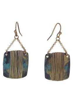 Dusky Sky Wrap Earrings | Gold Plated and Nickel-Free