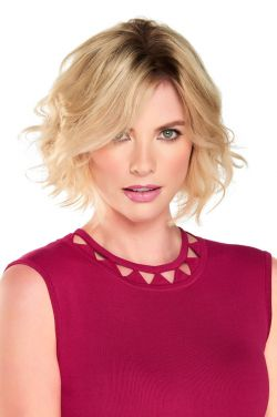 8 Inch EasiPart HD Topper by Jon Renau Wigs - Monofilament, Heat Friendly Synthetic Hairpiece