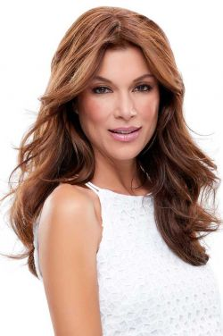 LAST CALL - easiPart XL 18 Inch Human Hair Topper Hairpiece by Jon Renau Wigs
