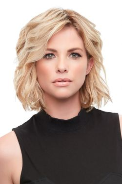 8 Inch easiPart French XL HH Topper by Jon Renau Wigs - Remy Human Hair, French Drawn Top