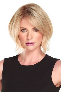 8 Inch EasiPart HD XL Topper by Jon Renau Wigs - Monofilament, Heat Friendly Synthetic Hairpiece