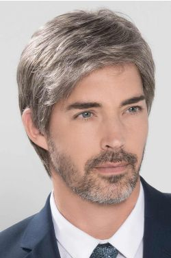 George 5 Star 2.0 by Ellen Wille Wigs - 100% Hand Tied, Lace Front, Monofilament Top Wig for Men