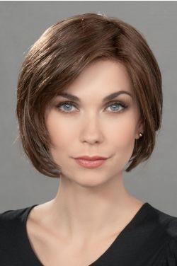 Just by Ellen Wille Wigs - Heat Friendly Synthetic, 100% Hand Tied, Lace Front, Monofilament Topper
