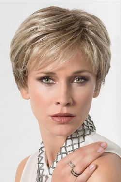 Close by Ellen Wille Wigs - 100% Hand Tied, Lace Front, Monofilament Topper