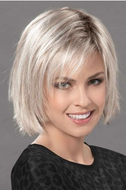 Fizz Topper by Ellen Wille Wigs - 100% Hand Tied, Lace Front Topper