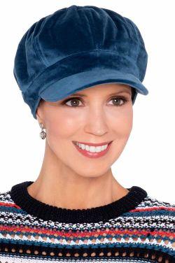 Elora Velour Newsboy | Stylish Winter Hats for Women