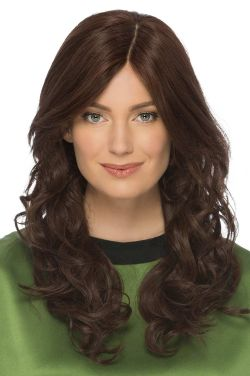 Isabel by Estetica Designs Wigs - Human Hair, French Part, Monofilament Top Wig
