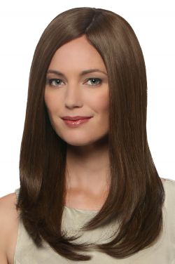 Treasure by Estetica Designs Wigs - Human Hair, Hand Tied Back, French Part, Monofilament Top Wig
