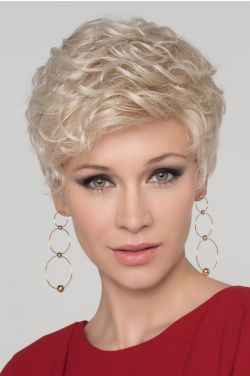 Kiss by Ellen Wille Wigs - Mono Crown, Micro Lace Accent Wig