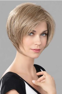 Promise by Ellen Wille Wigs - Human/Heat Friendly Synthetic Blend, Hand Tied, Lace Front, Monofilament Top Wig