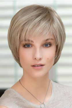 Ideal Top Piece by Ellen Wille Wigs - Remy Human Hair, Mono, Hand Tied, Lace Front Topper