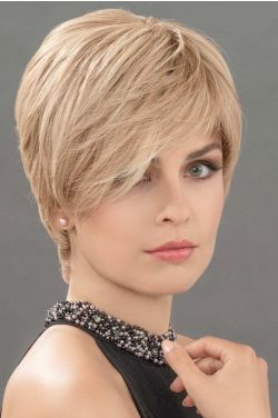 Hanna Topper by Ellen Wille Wigs - Remy Human Hair, Hand Tied,  Topper