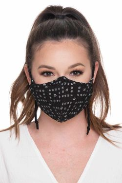 Cloth Face Mask with Designs | Fashion Prints | Bamboo Liner & Filter Pocket